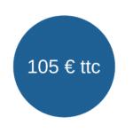 tarif 105 euros